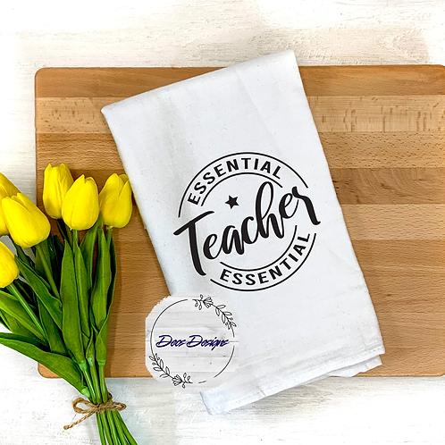 015 Essential Teacher Tea Towel