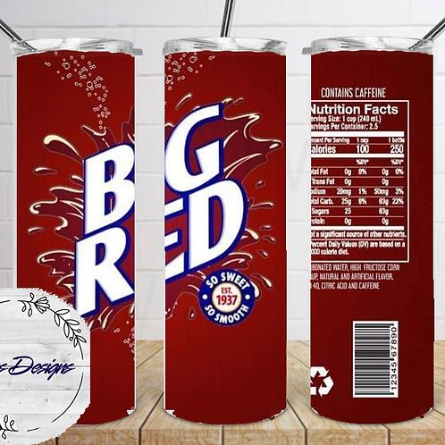 046 Big Red - 20oz Skinny Tumbler