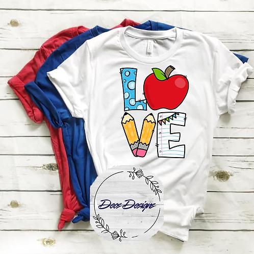 043 Love TShirt