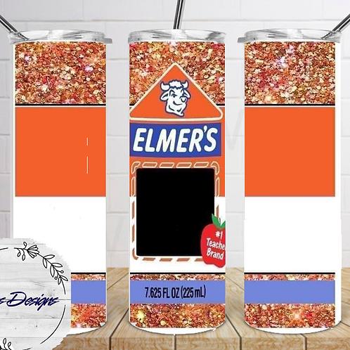014 Elmers - 20oz Skinny Tumbler