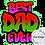 Thumbnail: Best Dad Ever 20oz Skinny Tumbler