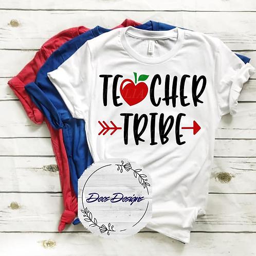 031 Teacher Tribe TShirt