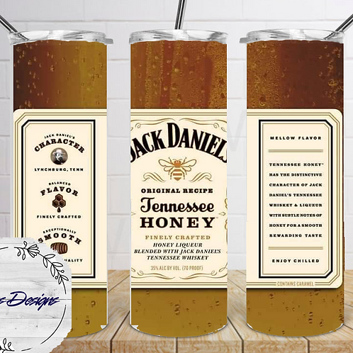 014 Jack Daniels Honey - 20oz Skinny Tumbler