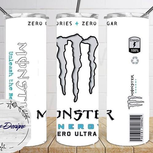 035 Monster White - 20oz Skinny Tumbler