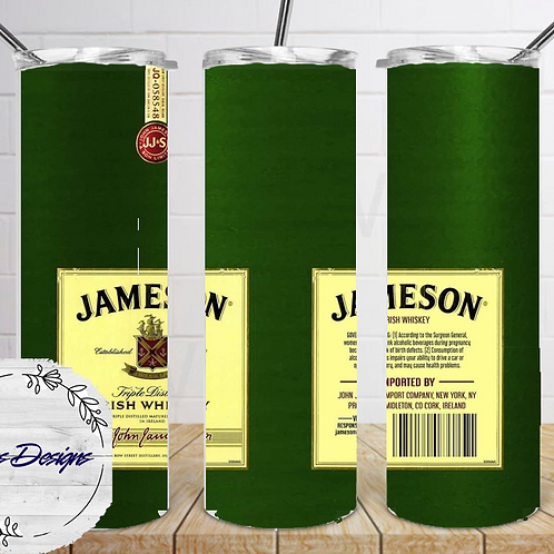018 Jameson - 20oz Skinny Tumbler