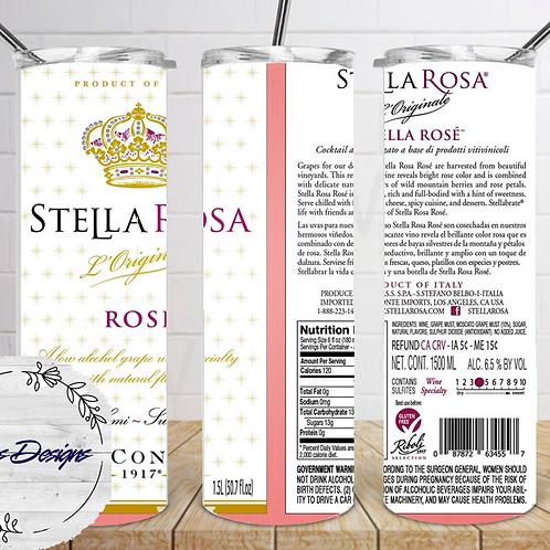 051 Stella Rose - 20oz Skinny Tumbler