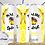 Thumbnail: 022 Malibu Splash Pineapple - 20oz Skinny Tumbler