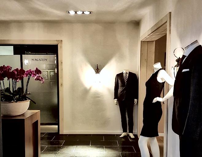 Interieur modezaak