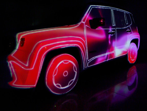 Jeep Renegade Videomapping