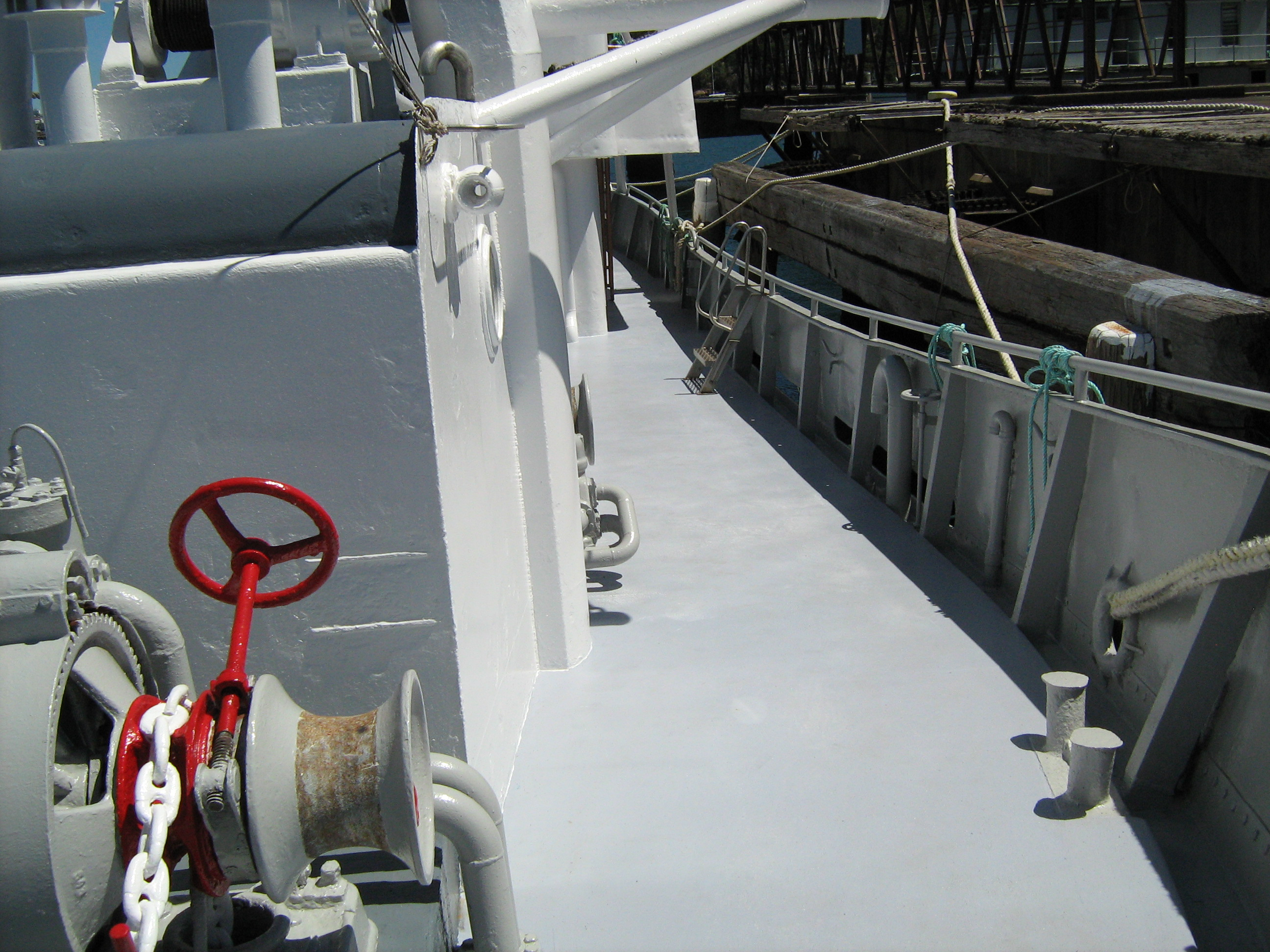 Port Side Looking Aft