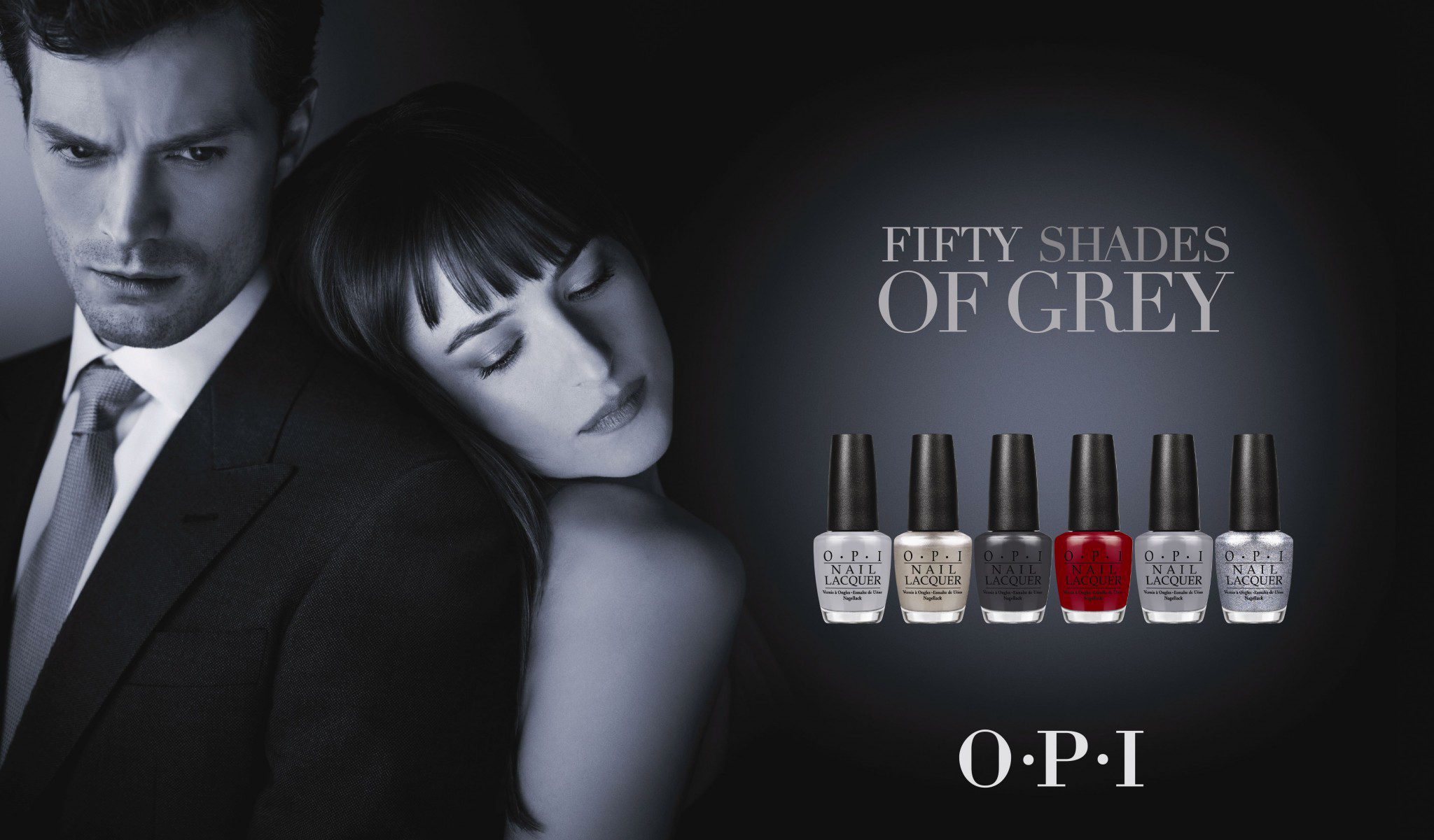 Kolekce O·P·I FIFTY SHADES OF GREY
