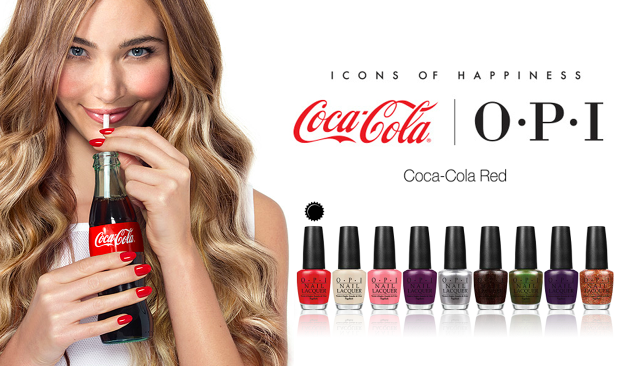 Kolekce COCA COLA O·P·I