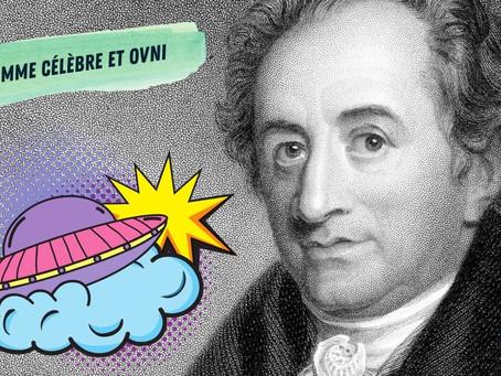 GOETHE aurait-il vu un OVNI en 1765 ?