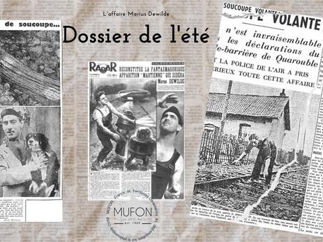 1954 dans le nord de la France: La rencontre du garde-barrière Marius Dewilde