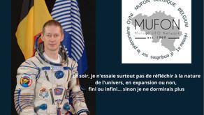 le Spationaute Belge F.D Winne : Il existe une vie extraterrestre