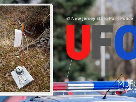 """Un mystérieux """"détecteur d'OVNI '' retrouvé dans un parc du New Jersey."""