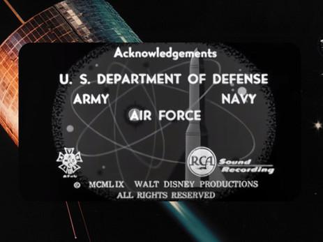 1955 : WALT DISNEY et la commandite du Pentagone