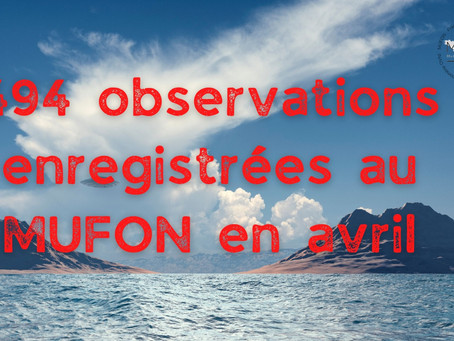 Nouvelles et bilan MUFON France