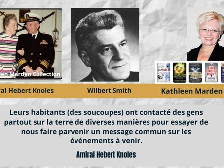 EXCLUSIVITÉ : Correspondance entre le Contre-Amiral Hebert Knoles et Wilbert Smith