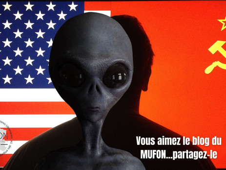 Harry Reid a annoncé l'implication de la Russie dans l'apparition d'un OVNI