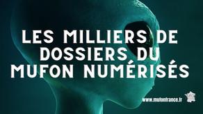 projet MARSS plus de 9 000 dossiers du MUFON numérisés!