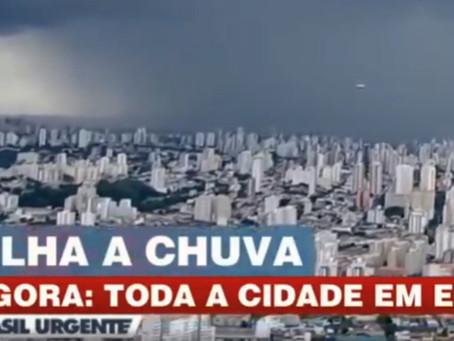 VIDEO : Objet dyscoïde ′′ à grande vitesse. Brésil