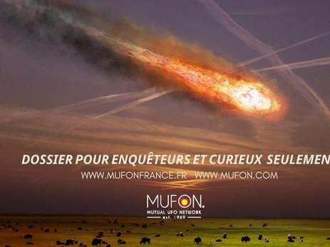 MUFON ENQUÊTE : Est-ce un météore ou un OVNI ?