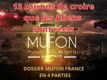 13 Raisons de croire que les Aliens sont réels (1/4)