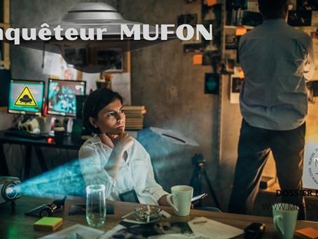 Note de l'enquêteur du MUFON : journal de Sylvain Matisse