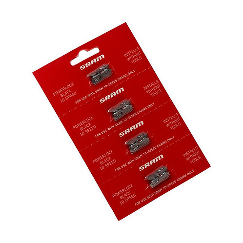 SRAM 10 Speed Power Lock / 4Pc Card (Black)