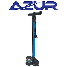 Azur Dual Scale Floor Pump