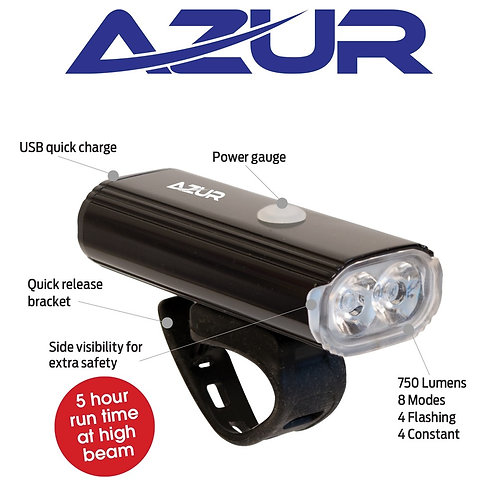 USB Halo 750 Lumens Head Light