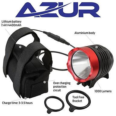 AZUR Vega 1000 Lumen Head Light