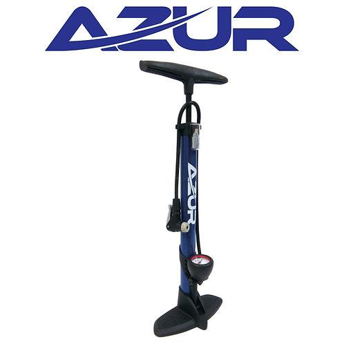 Azur Valve Pump w/ Gauge - Blue