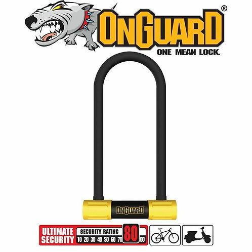 OnGuard Alarm Bike Bicycle U-lock 8268