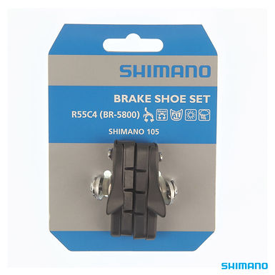 Shimano BR-5800 BRAKE SHOE SET R55C4 CARTRIDGE BLACK 1PR