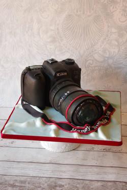 Canon Camera 40th Birthday cake