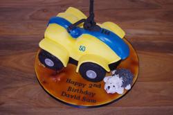 Quadbike Cake