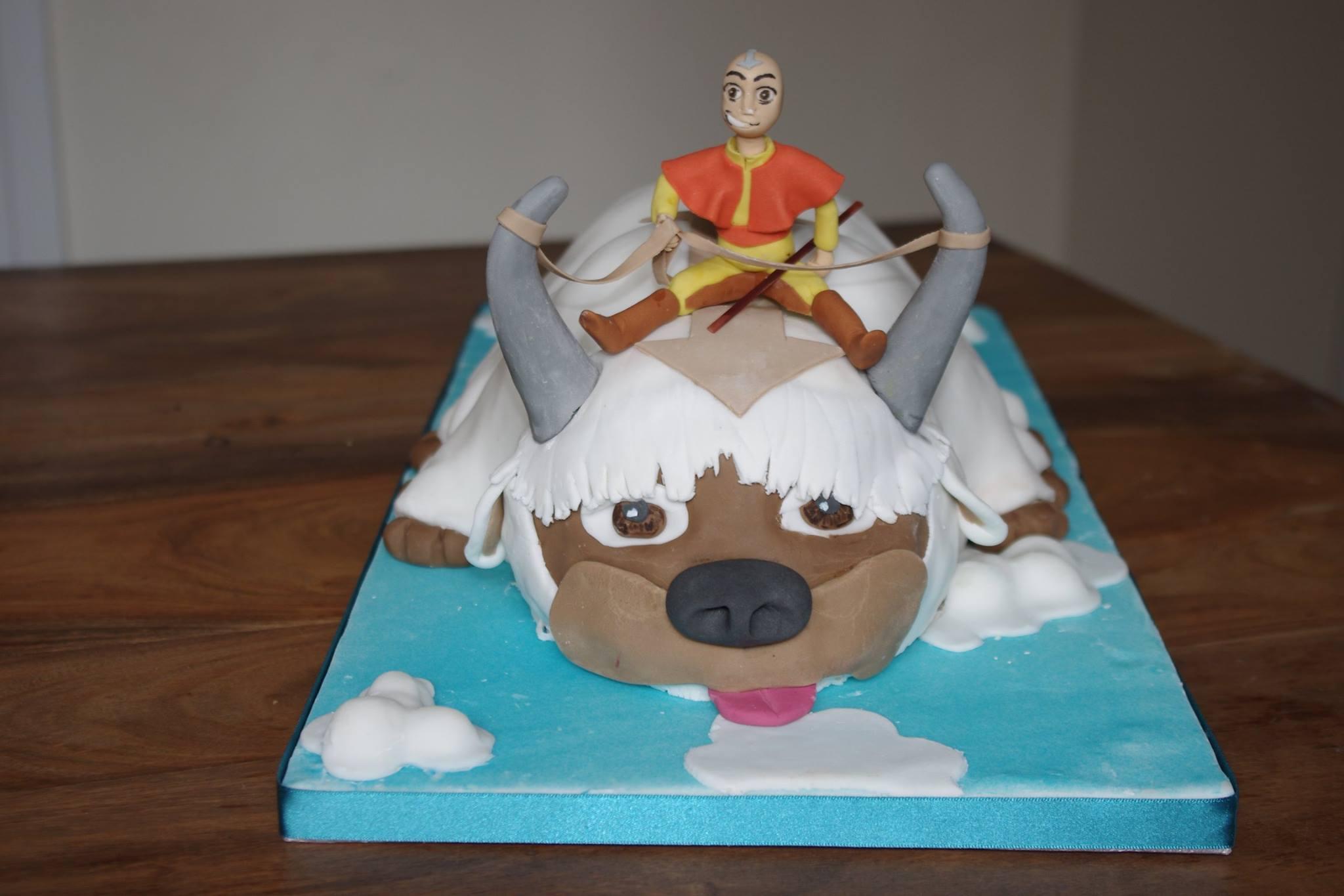 Avatar Appa and Ang Cake