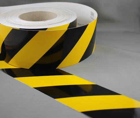 Black & Yellow Striped Tape