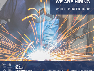 Vacancy - Welder & Metal Fabricator