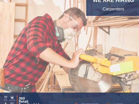 Vacancy - Carpenters