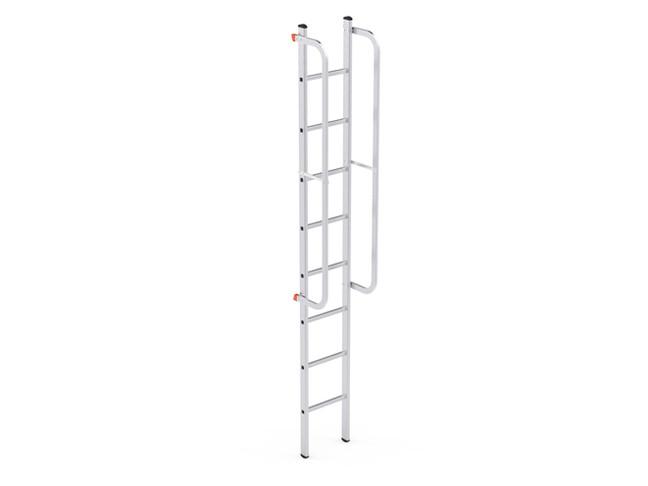 Single Part Ladder W/Railing