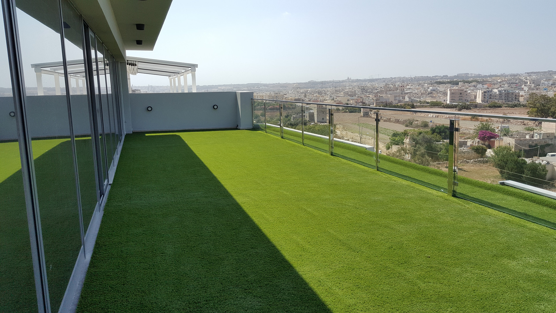 Artificial Turfed Balcony