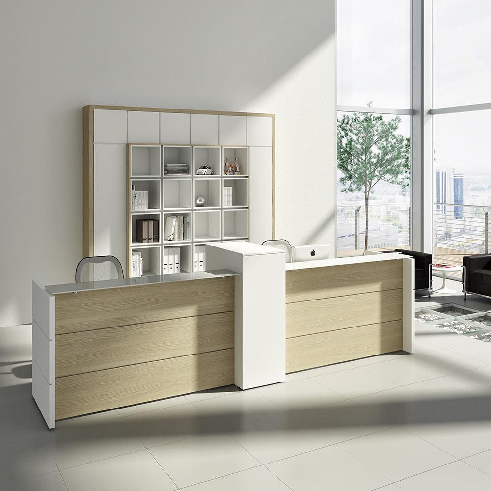 Spacious Reception Desk