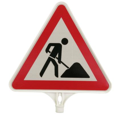 Men at work Cone Attachment