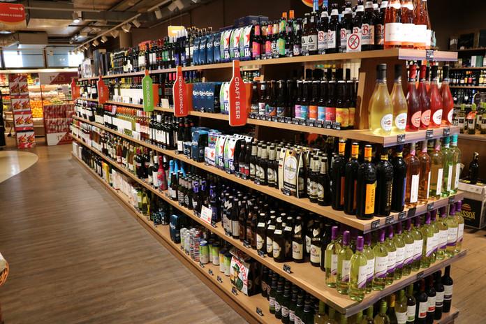 Wooden Supermarket Shelving