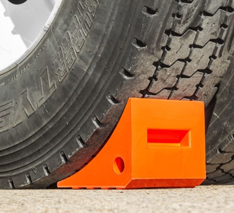 Orange Wheel Chocks