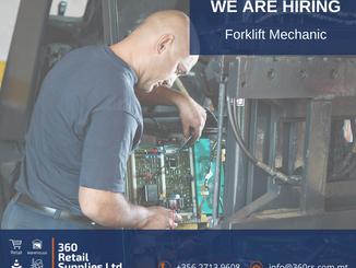 Vacancy - Forklift Mechanic