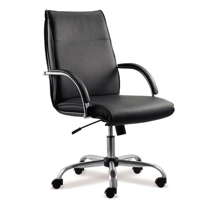 Office chair with adjustable height